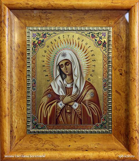 молитва перед иконой нечаянная радость о беременности